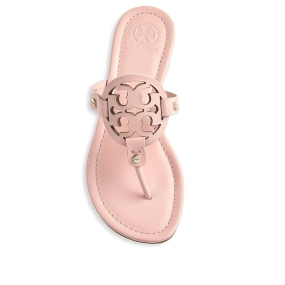 472a5258cb36ec NEW! Tory Burch Clay Pink Miller Sandals- size 6.5